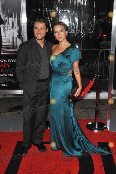 "Alec Mazo, Edyta Sliwinska, Grauman's Chinese Theatre Photo - Edyta Sliwinska & husband Alec mazo at the premiere of ""Extraordinary Measures"" at Grauman's Chinese Theatre, Hollywood.