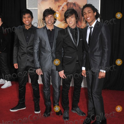 """Allstar Weekend Photo - Pop group Allstar Weekend at the world premiere of """"The Last Song"""" at the Arclight Theatre, Hollywood.March 25, 2010  Los Angeles, CAPicture: Paul Smith / Featureflash"""