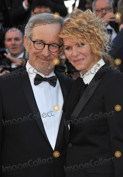 """Kate Capshaw, Steven Spielberg, Cannes Jury Photo - Cannes Jury president Steven Spielberg & wife Kate Capshaw at the gala premiere for """"Venus in Fur"""" in competition at the 66th Festival de Cannes.May 25, 2013  Cannes, FrancePicture: Paul Smith / Featureflash"""