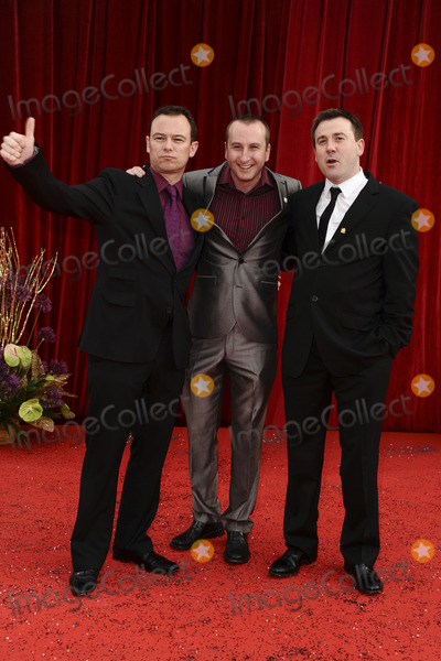 Andrew Lancel Photo - Andrew Lancel, Andrew Whyment and Graeme Hawley arrive at the British Soap awards 2011 held at the Granada Studios, Manchester.