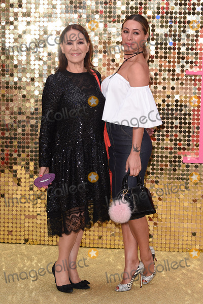 """Arlene Phillips Photo - Arlene Phillips & Daughter at the World Premiere of """"Absolutely Fabulous: The Movie"""" at the Odeon Leicester Square, London.June 29, 2016  London, UKPicture: Steve Vas / Featureflash"""