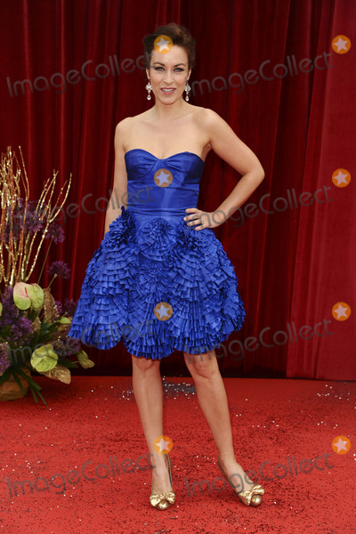 Photo - Elisabeth Dermot Walsh arrives at the British Soap awards 2011 held at the Granada Studios, Manchester.