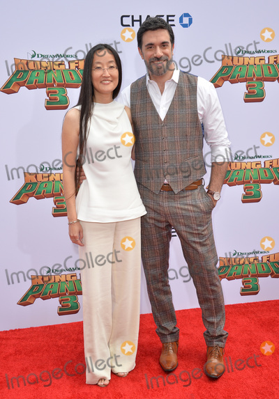 Jennifer Yuh, TCL Chinese Theatre, Alessandro Carloni Photo - Directors Jennifer Yuh Nelson & Alessandro Carloni at the world premiere of Kung Fu Panda 3 at the TCL Chinese Theatre, Hollywood.