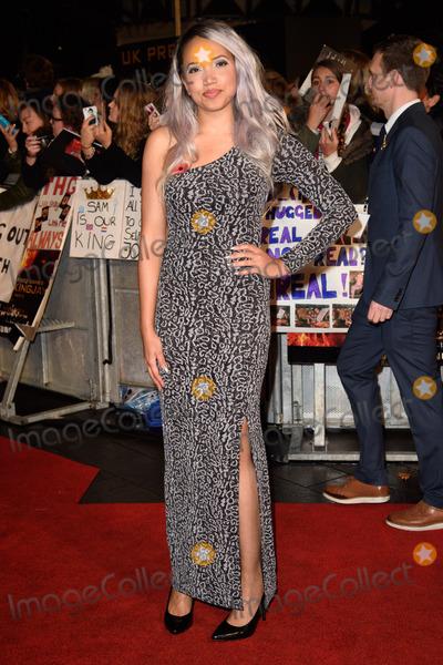 "Aisha Kazim, Leicester Square Photo - Aisha Kazim at the world premiere of ""The Hunger Games: Mockingjay Part 2"" at the Odeon Leicester Square, LondonNovember 5, 2015  London, UKPicture: Steve Vas / Featureflash"
