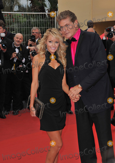 "David Hasselhoff, Hayley Roberts Photo - David Hasselhoff & Hayley Roberts at the gala premiere of ""Young & Beautiful"" (""Jeune & Jolie"") in competition at the 66th Festival de Cannes.