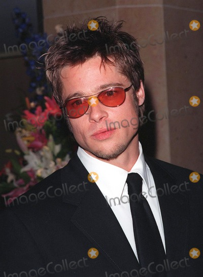 Brad Pitt, John Huston, Tom Cruise, The Artist Photo - 17APR98:  Actor BRAD PITT at the Beverly Hilton Hotel where Tom Cruise was honored with the 1998 John Huston Award by the Artists Rights Foundation.