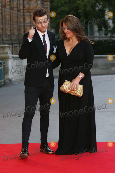 Cinderella, Louis Tomlinson, James Smith Photo - Louis Tomlinson & Mother Johannah Deakin at the Believe In Magic Cinderella Ball held at the Natural History Museum, London. August 10, 2015  London, UKPicture: James Smith / Featureflash