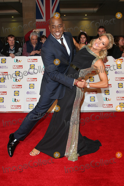 Natalie Lowe, James Smith Photo - Ainsley Harriet & Natalie Lowe at the 2015 Pride of Britain Awards at the Grosvenor House Hotel.September 28, 2015  London, UKPicture: James Smith / Featureflash