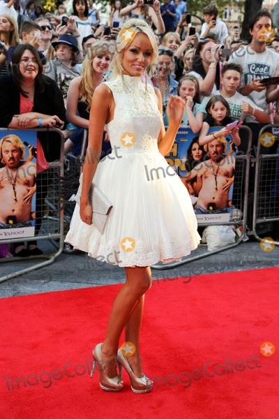 """Hayley Roberts, Keith Lemon Photo - Hayley Roberts arriving for the premiere of """"Keith Lemon: The Film"""" at the Vue Cinema, Leicester Square, London. 21/08/2012. Picture by: Steve Vas / Featureflash"""