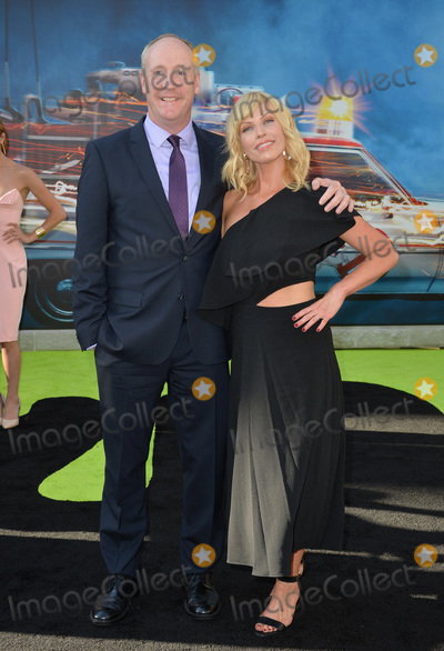 "Matt Walsh, Morgan Walsh, TCL Chinese Theatre Photo - LOS ANGELES, CA. July 9, 2016: Actor Matt Walsh & wife actress Morgan Walsh at the Los Angeles premiere of ""Ghostbusters"" at the TCL Chinese Theatre, Hollywood.