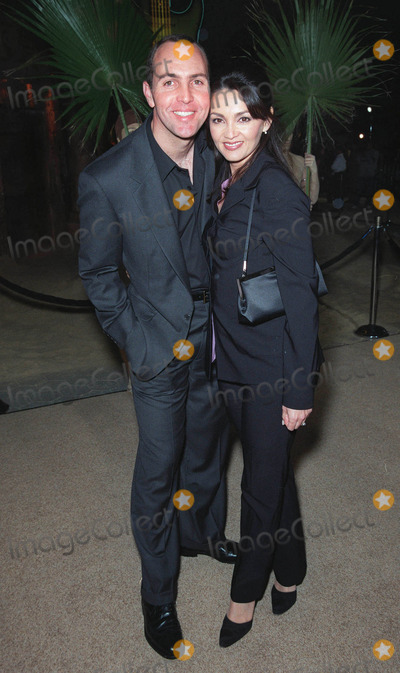 """Arnold Vosloo Photo - 04MAY99: Actor ARNOLD VOSLOO & wife at the world premiere of Universal Pictures' """"The Mummy"""" at Universal Studios, Hollywood. He plays the mummy in the movie.       Paul Smith / Featureflash"""