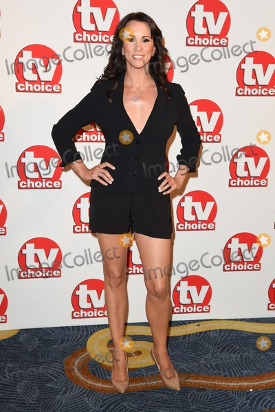 Andrea Mclean, THE HILTONS Photo - Andrea McLean arriving for the TV Choice Awards 2014 at the Hilton Park Lane, London. 08/09/2014 Picture by: Steve Vas / Featureflash