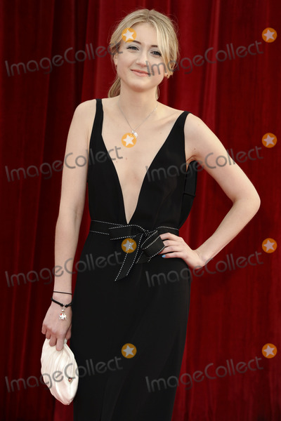Photo - Ashley Slanina Davies arrives at the British Soap awards 2011 held at the Granada Studios, Manchester.