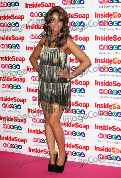 Adiza Shardow, Ministry, Sounds Photo - Adiza Shardow arriving for the 2013 Inside Soap Awards, at the Ministry Of Sound, London. 21/10/2013 Picture by: Alexandra Glen / Featureflash