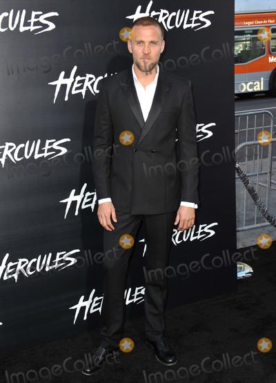 "Tobias Santelmann, TCL Chinese Theatre Photo - Tobias Santelmann at the premiere of his movie ""Hercules"" at the TCL Chinese Theatre, Hollywood.July 23, 2014  Los Angeles, CAPicture: Paul Smith / Featureflash"