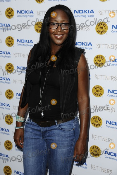 Angelica Bell Photo - Angelica Bell arriving for the Jeans For Genes Launch Party, at Kettners, London. 06/09/2011  Picture by: Steve Vas / Featureflash