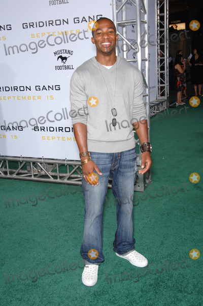 "Arlen Escarpeta, Grauman's Chinese Theatre Photo - Actor ARLEN ESCARPETA at the Los Angeles premiere of ""Gridiron Gang"" at the Grauman's Chinese Theatre, Hollywood.