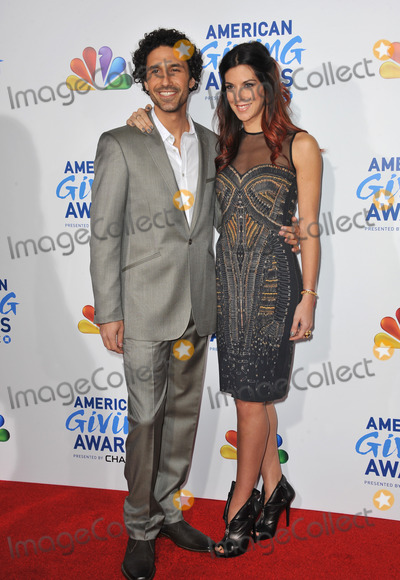 Ethan Zohn, Jenna Morasca Photo - Ethan Zohn & Jenna Morasca at the American Giving Awards at the Dorothy Chandler Pavilion in Los Angeles.