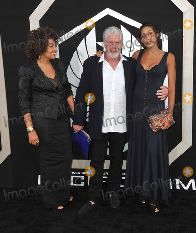 Ron Perlman, Blake Perlman Photo - Ron Perlman & wife & daughter Blake Perlman at the premiere of his new movie Pacific Rim at the Dolby Theatre, Hollywood.