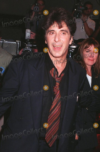 """Al Pacino, Keanu Reeves Photo - 13OCT97: Actor AL PACINO at the world premiere of his new movie, """"Devil's Advocate."""" He stars in the movie with Keanu Reeves."""
