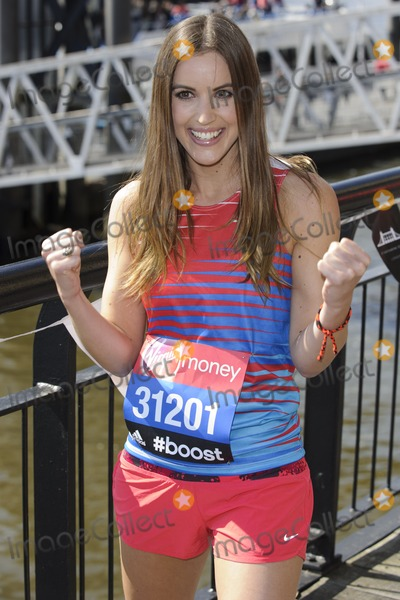 Charlie Webster Photo - Charlie Webster at the photocall for celebs running the 2014 London Marathon, London. 09/04/2014 Picture by: Steve Vas / Featureflash