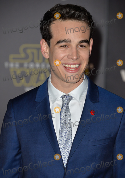 """Alberto Rosende, Alberto Cutié, Father Alberto Cutié, Padre Alberto Cutié, Rev. Alberto Cutié, Reverend Alberto Cutié Photo - Actor Alberto Rosende at the world premiere of """"Star Wars: The Force Awakens"""" on Hollywood Boulevard.December 14, 2015  Los Angeles, CAPicture: Paul Smith / Featureflash"""