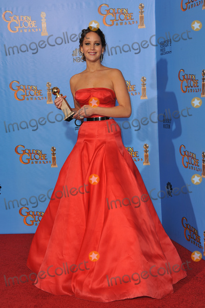 Jennifer Lawrence Photo - Jennifer Lawrence at the 70th Golden Globe Awards at the Beverly Hilton Hotel.January 13, 2013  Beverly Hills, CAPicture: Paul Smith / Featureflash