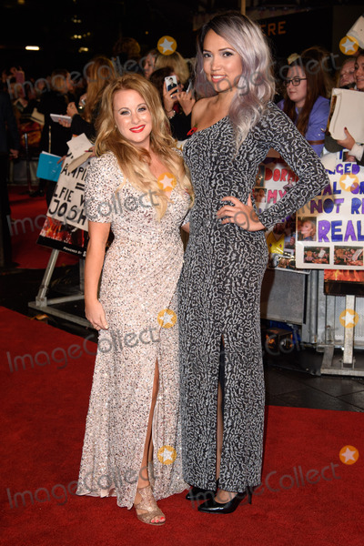 """Aisha Kazim, Selina Waterman-Smith, Leicester Square Photo - Selina Waterman-Smith & Aisha Kazim at the world premiere of """"The Hunger Games: Mockingjay Part 2"""" at the Odeon Leicester Square, LondonNovember 5, 2015  London, UKPicture: Steve Vas / Featureflash"""