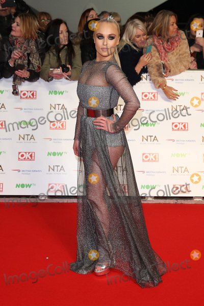 Jorgie Porter, James Smith, The National Photo - Jorgie Porter at The National Television Awards 2016 (NTA's) held at the O2 Arena, London. 
