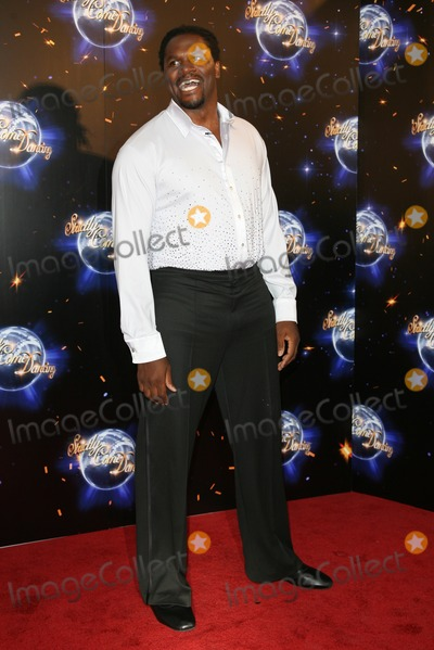 Audley Harrison Photo - Audley Harrison arriving for the 2011 Strictly Come Dancing Launch, at the BBC Centre, London. 07/09/2011 Picture by: Alexandra Glen / Featureflash