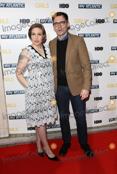 Erdem Moralioglu, Lena Dunham Photo - Lena Dunham, Erdem Moralioglu arriving for the Girls - UK premiere of the third series held at the Cineworld Haymarket - Arrivals, London. 15/01/2014 Picture by: Henry Harris / Featureflash