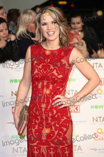 Charlotte Hawkins, James Smith Photo - Charlotte Hawkins at The National Television Awards 2016 (NTA's) held at the O2 Arena, London. 