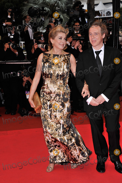 Arnaud Desplechin, Catherine Deneuve Photo - Catherine Deneuve & director Arnaud Desplechin at the closing gala ceremony at the 61st Annual International Film Festival de Cannes. 