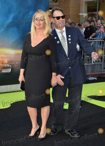 "Dan Aykroyd, Donna Dixon, TCL Chinese Theatre Photo - LOS ANGELES, CA. July 9, 2016: Actor Dan Aykroyd & wife Donna Dixon at the Los Angeles premiere of ""Ghostbusters"" at the TCL Chinese Theatre, Hollywood.