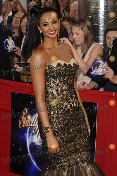 Aleesha Dixon Photo - Aleesha Dixon arriving for the Stictly Come Dancing 2011 launch at BBC TV Centre, London. 07/09/2011 Picture by: Steve Vas / Featureflash
