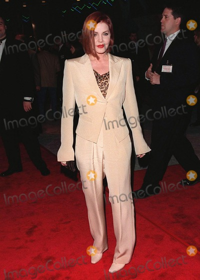 "Priscilla Presley Photo - 12MAR98:  Actress PRISCILLA PRESLEY at the world premiere of ""Primary Colors,"" in Hollywood"