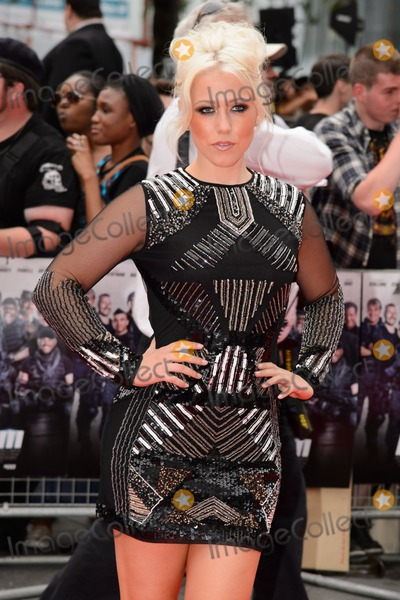 """Amelia Lilly, Leicester Square Photo - Amelia Lilly arrives for the World premiere of """"The Expendables 3"""" at the Odeon Leicester Square, London. 04/08/2014 Picture by: Steve Vas / Featureflash"""