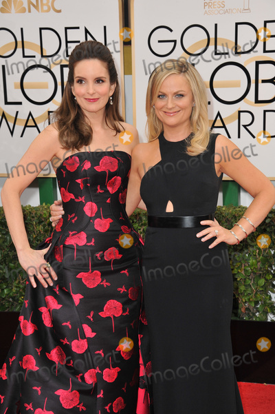 Tina Fey, AMY POHLER Photo - Tina Fey & Amy Pohler (right) at the 71st Annual Golden Globe Awards at the Beverly Hilton Hotel.January 12, 2014  Beverly Hills, CAPicture: Paul Smith / Featureflash