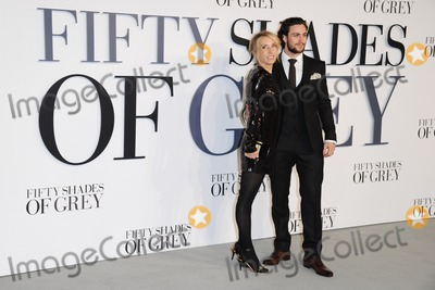 Aaron Johnson, Sam Taylor, Sam Taylor-Johnson, Taylor Johnson, Leicester Square Photo - Sam Taylor Johnson and hubsand, Aaron Johnson arriving for the Fifty Shades of Grey UK Premiere, at Odeon Leicester Square, London. 12/02/2015 Picture by: Steve Vas / Featureflash