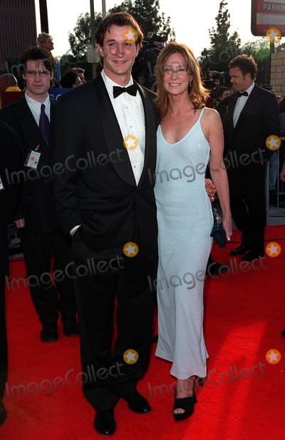 """Noah Wyle Photo - 08MAR98:  """"ER"""" star NOAH WYLE & wife at the Screen Actors Guild Awards in Los Angeles."""