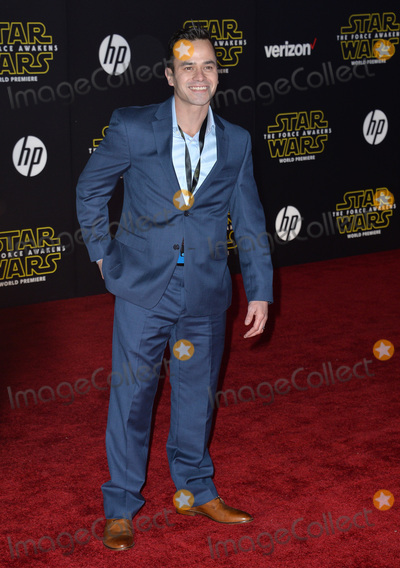 """Daniel Logan Photo - Actor Daniel Logan at the world premiere of """"Star Wars: The Force Awakens"""" on Hollywood Boulevard.December 14, 2015  Los Angeles, CAPicture: Paul Smith / Featureflash"""