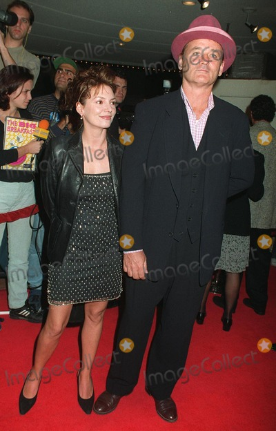 """Bill Murray, Joanne Whalley Photo - 11NOV97: Actor BILL MURRAY & British actress JOANNE WHALLEY at premiere in Los Angeles of their new movie, """"The Man Who Knew Too Little."""""""