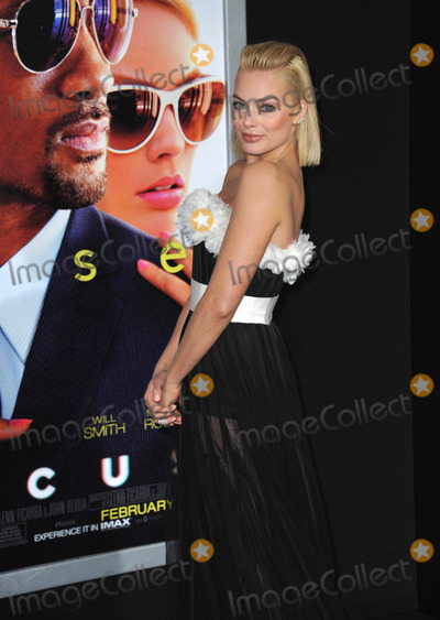 """Margot Robbie, TCL Chinese Theatre Photo - Margot Robbie at the Los Angeles premiere of her movie """"Focus"""" at the TCL Chinese Theatre, Hollywood.February 24, 2015  Los Angeles, CAPicture: Paul Smith / Featureflash"""
