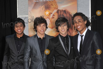 "Allstar Weekend Photo - Pop group Allstar Weekend at the world premiere of ""The Last Song"" at the Arclight Theatre, Hollywood.