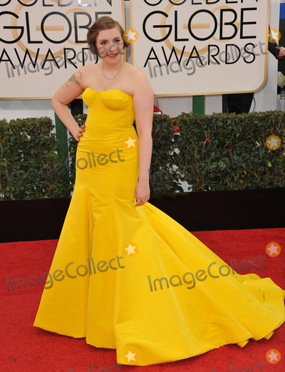 Lena Dunham Photo - Lena Dunham at the 71st Annual Golden Globe Awards at the Beverly Hilton Hotel.