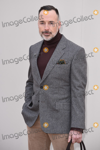 David Furnish Photo - David Furnish arriving at the Burberry Prorsum show during The London Collections Menswear A/W 2016 at Kensington Gardens, London.