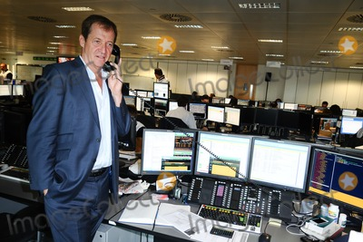 Alistair Campbell Photo - Alistair Campbell on the trading floor of BGC as part of the BGC Charity Day 2012, Canary Wharf, London. 11/09/2012 Picture by: Steve Vas / Featureflash