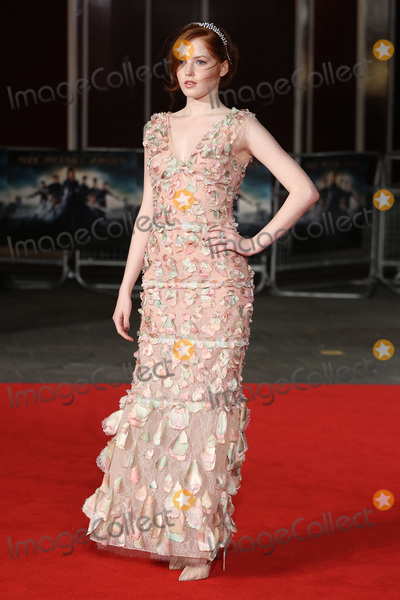 "Ellie Bamber, James Smith, Leicester Square Photo - Ellie Bamber at the European premiere for ""Pride and Prejudice and Zombies"" at the Vue West End, Leicester Square.