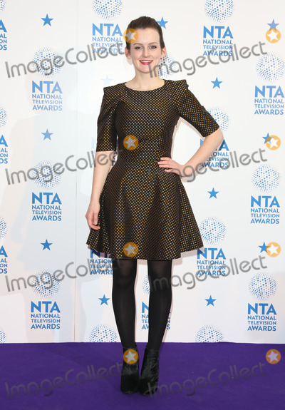 Sophie McShera, The National Photo - Sophie McShera in the winners room at The National Television Awards (NTA's) 2013 held at the O2 arena, London. 23/01/2013 Picture by: Henry Harris / Featureflash