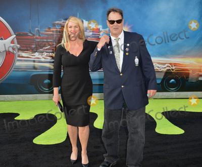 "Dan Aykroyd, Donna Dixon, TCL Chinese Theatre Photo - LOS ANGELES, CA. July 9, 2016: Actor Dan Aykroyd & wife Donna Dixon at the Los Angeles premiere of ""Ghostbusters"" at the TCL Chinese Theatre, Hollywood.Picture: Paul Smith / Featureflash"